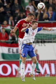 Hungary vs. Faroe Islands UEFA Euro 2016 qualifier football match