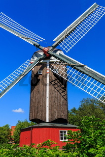Bockwindmühle in Dornum