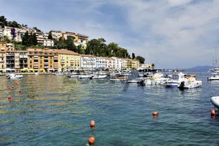 Küste der Toskana, Stadtansicht Porto Santo Stefano, Italien