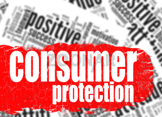 Word cloud consumer protection