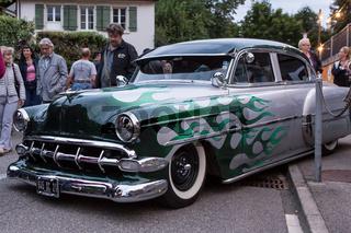 Altes Auto bei Route 66 Festival