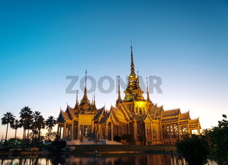 Wat Nonekum Temple place of destination in Thailand