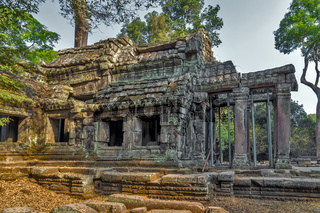 Angkor Wat, Khmer temple complex, Asia. Siem Reap, Cambodia.