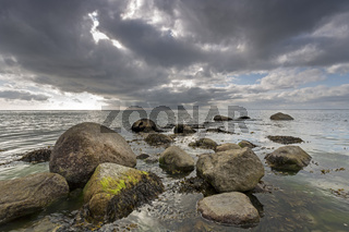 Küste bei Sassnitz, Nationalpark Jasmund , Mecklenburg-Vorpommern, Deutschland, Europa