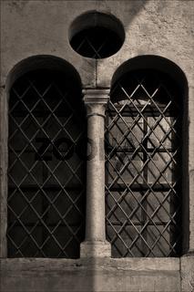 facade and window