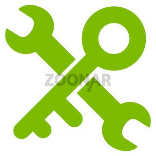 Key Tools Flat Icon