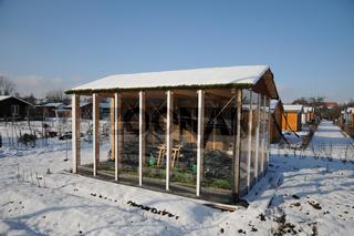 Gewächshaus, Gartenhaus, Greenhouse, Garden shed