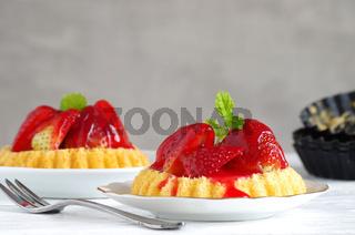 Erdbeertötchen