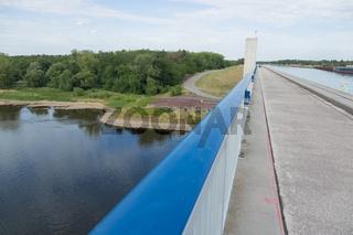 Geländer am Elbe-Havel-Kanal