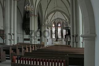 Innenraum der Marienkriche Lemgo