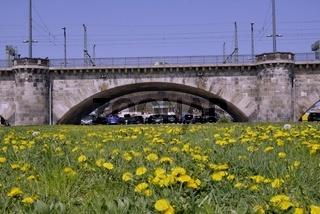 Dresden, Bogen der Marienbrücke