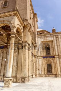 detail of Mosque of Muhammad Ali Saladin Citadel of Cairo Egypt