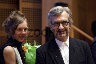 Empfang zum 70. Geburtstag von Wim Wenders in Duesseldorf