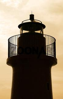 Leuchtturm Silhouette