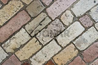 Background of stone floor texture