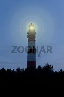 Amrumer Leuchtturm am Abend