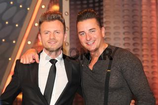 Willi Gabalier mit Bruder Andreas Gabalier ZDF TV Show Willkommen bei Carmen Nebel 16.5.15 Magdeburg