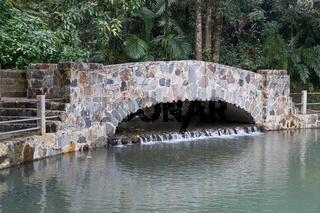 Bridge in El Yunque National Forest Park