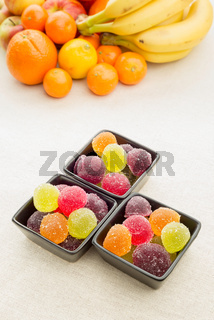 Fruit Jelly and Fruit
