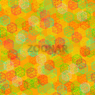 Seamless texture of  abstract colorful berries