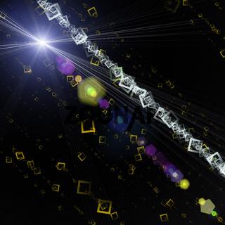 Futuristic technology background design
