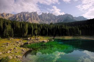 Karersee - Lago di Carezza 01