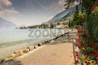 Malcesine at Lake Garda