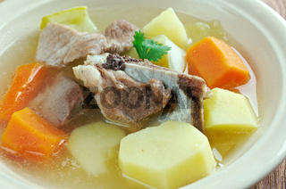 Icelandic soup with meat