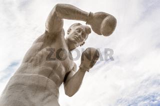 Stone Man Boxer