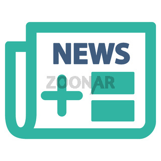 Medical Newspaper Icon