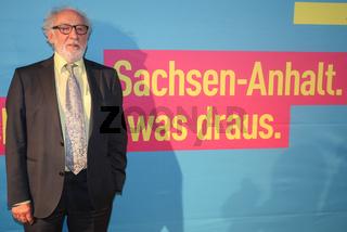 Schauspieler Dieter Hallervorden beim kulturpolitischen Abend der FDP in Dessau-Roßlau