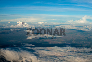 Cotopaxi the highest active volcano in the world. Andean Highlands of Ecuador, South America