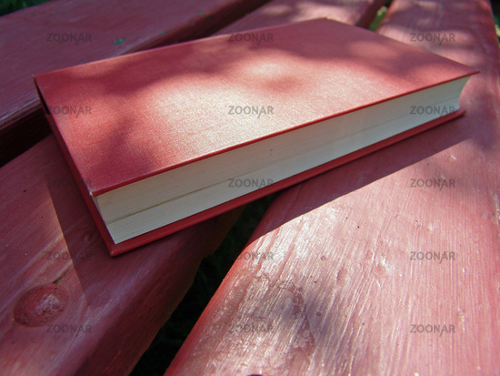 book and bench