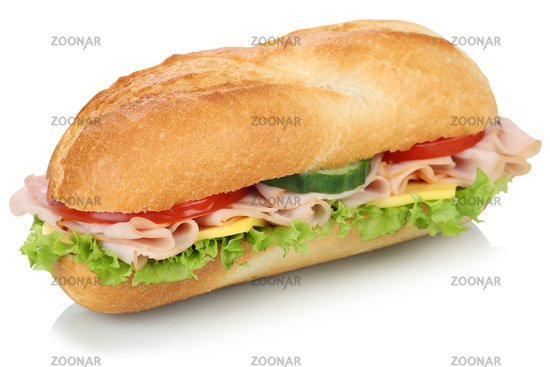 delicious french baguette