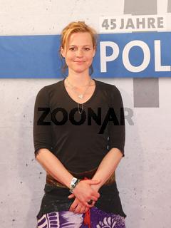 Schauspielerin Maria Simon (Hauptkommissarin Olga Lenski ) Polizeiruf 110 Brandenburg in Magdeburg