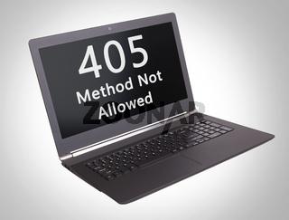 HTTP Status code - 405, Method Not Allowed