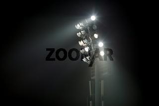 Lighting tower of a stadium
