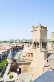 Towers in Olite