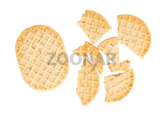 Small cookies isolated