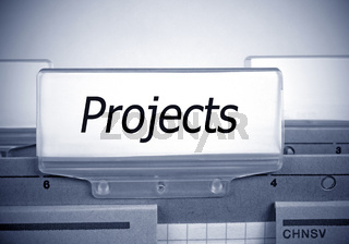 Projects Register Index
