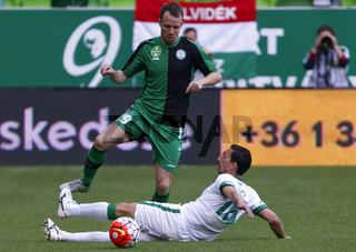 Ferencvaros - Paks OTP Bank League football match