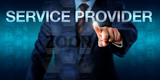 IT Professional Touching SERVICE PROVIDER