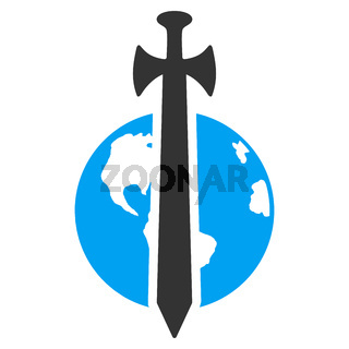Earth Military Protection Icon