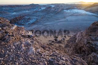Valle De La Luna - Moon Valley, Atacama, Chile