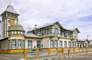 Woermann-Haus in Swakopmund, Namibia, Woermann-House in Swakopmund, Namibia