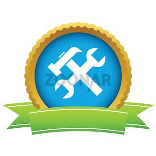 Gold repair logo
