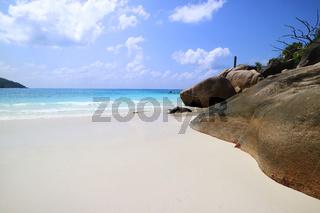 Paradise Beach Seychellen