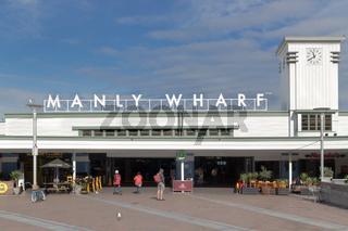 Manly Wharf entrance