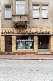 Altes Kino von von Dömitz an der Elbe