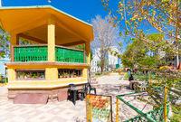 Bolivia Uyuni gazebo  in Aniceto Arce square